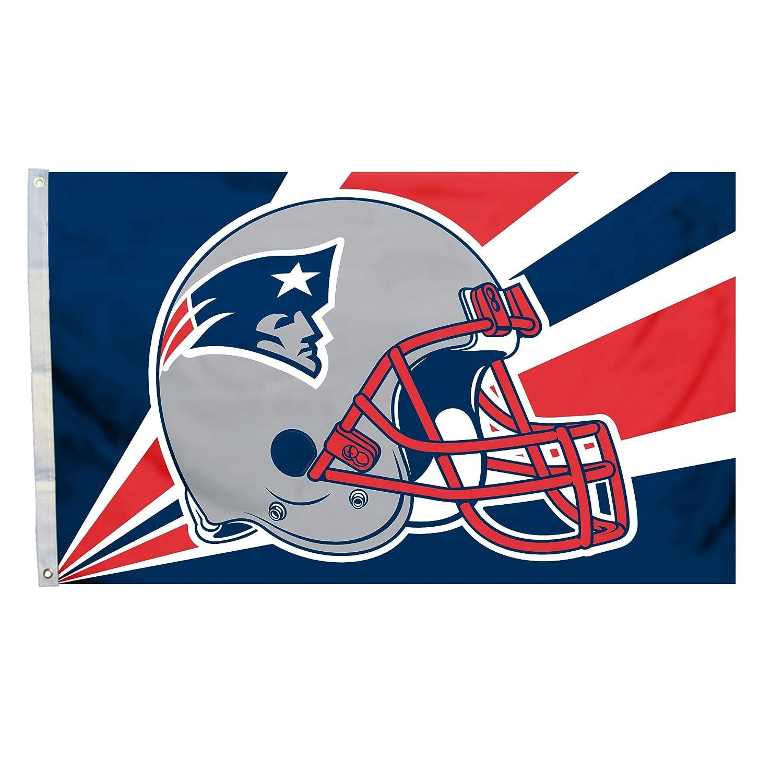 Fremont Die NFL England Patriots 3 5 Foot Helmet Flag 94211B