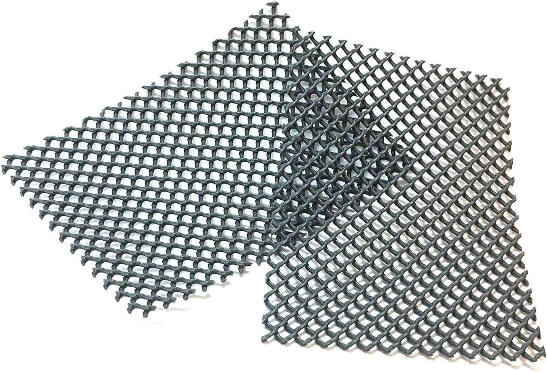 40 St/ück, Aluminiumgrau RAL9007 Bienenbeisser//Sto/ßfugenl/üfter//Fugenl/üfter rostfrei aus Edelstahl Fugenbreite 7-14 mm Farb- und Mengenauswahl m/öglich Fugenh/öhe 50mm