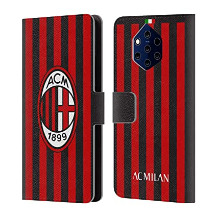 Amazon.com: Official AC Milan Home 2017/18 Crest Kit Leather ...