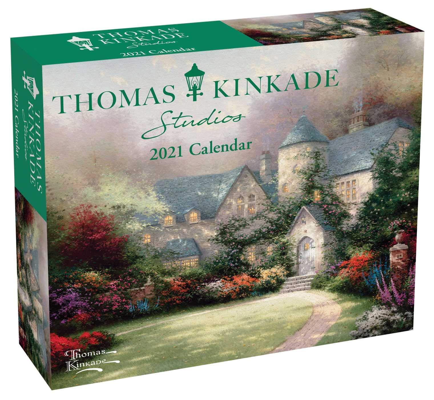 Thomas Kinkade Desk Calendar 2021 Images