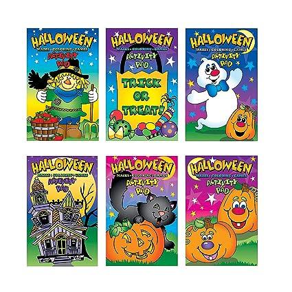 Amazon.com: Libreta de actividades de Halloween (1 docena ...
