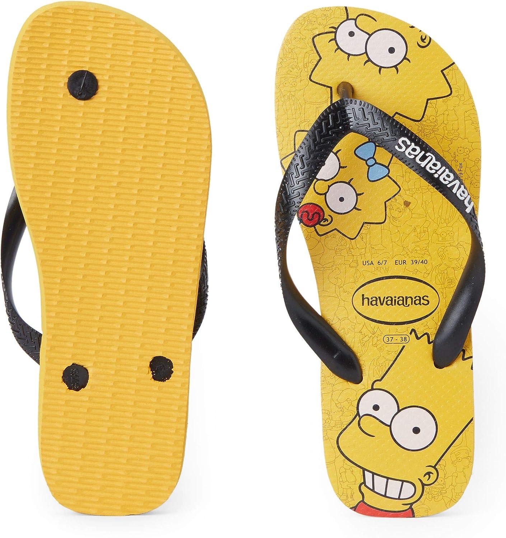 gelb Havaianas Herren Simpsons Zehentrenner