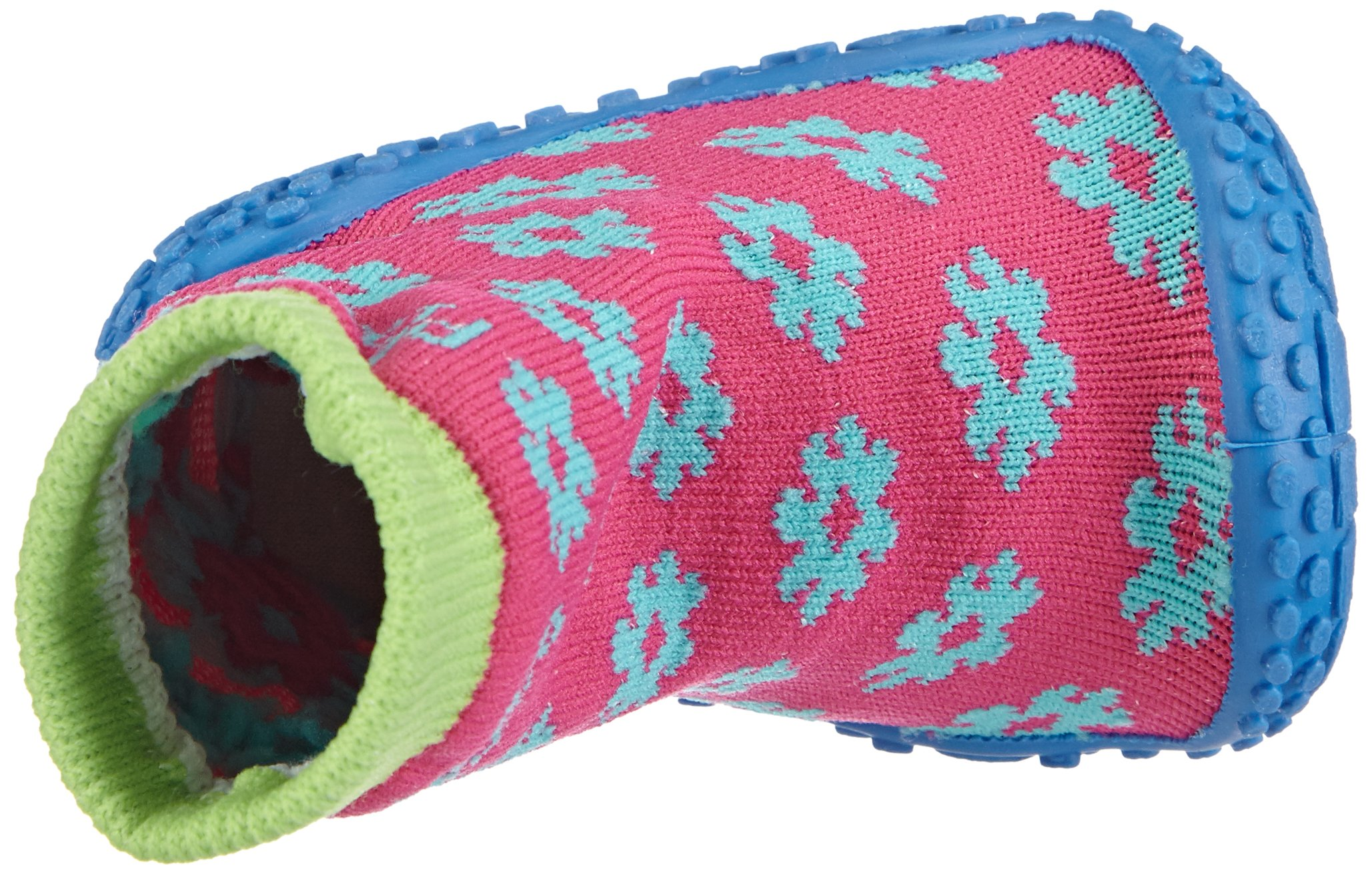 Playshoes Girls Flower Collection Rubber Aqua Swim/Beach Shoes (4.5 M US Toddler) by Playshoes (Image #7)