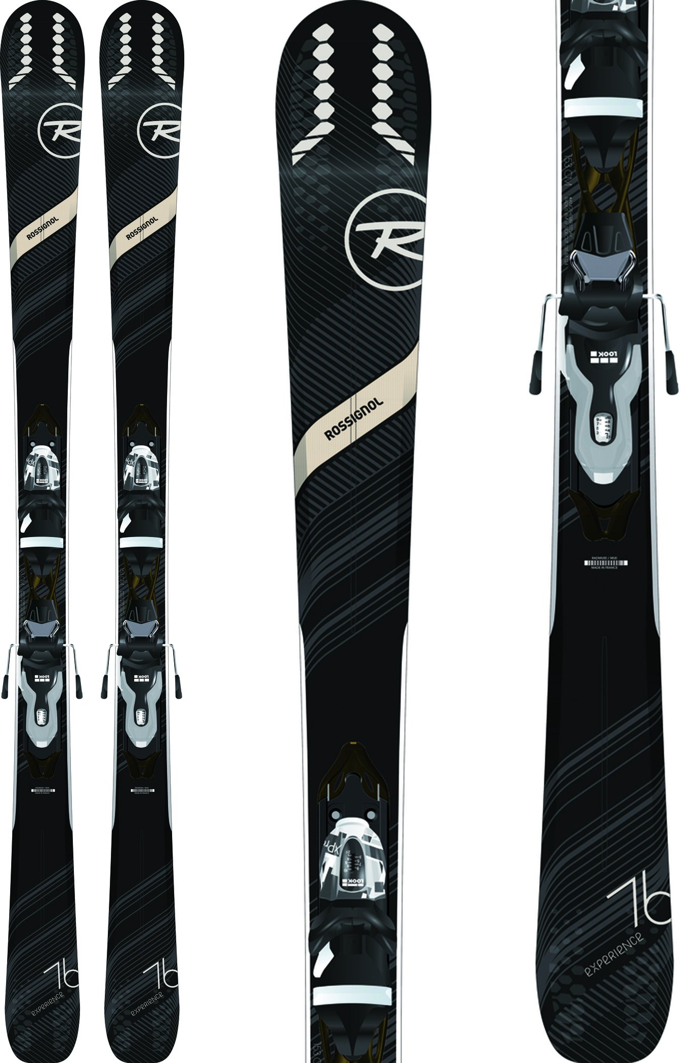 Rossignol Experience 76 Ci Skis w/Xpress 10 Bindings Womens Sz 162cm by Rossignol