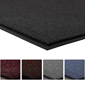 Notrax 141 Ovation Entrance Mat, for Home or Office, 3' X 6' Black
