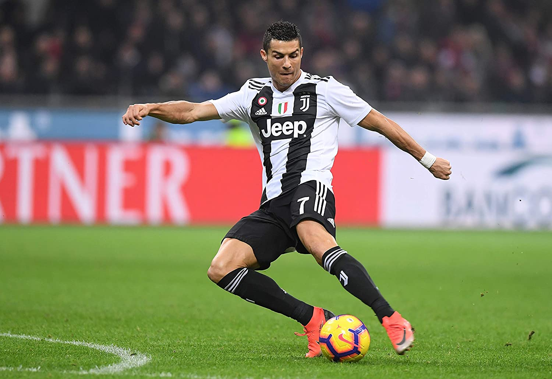 Cristiano Ronaldo Manchester United Inspired Football Art Print Number 7 CR7