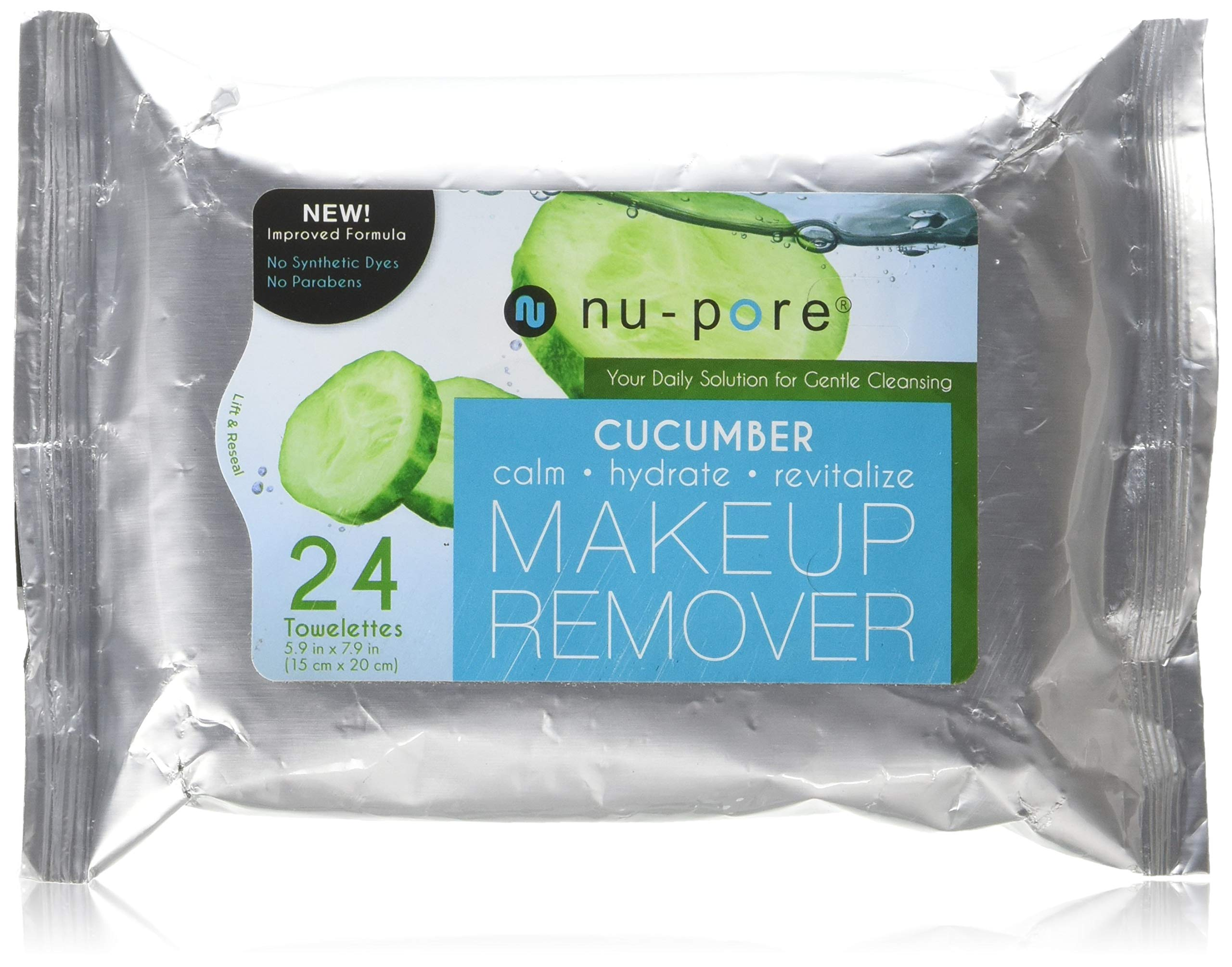 Nu-Pore Makeup Remover With Cucumber, Bulk Case of 24 by nu-pore