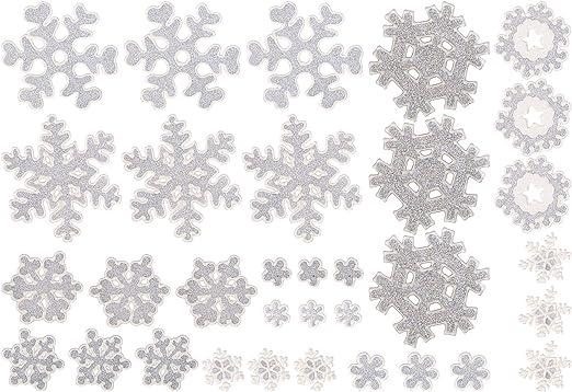 3d Schneeflocke Winterdeko. Fensterdekoration Schneeflocke groß