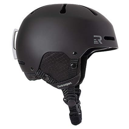 5fa9bcc05b34 Amazon.com  Retrospec Traverse H3 Youth Ski   Snowboard Helmet ...