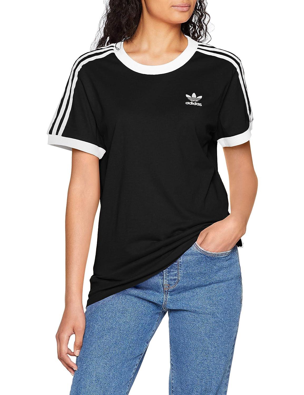 TALLA 46. adidas 3 Stripes tee T-Shirt, Mujer