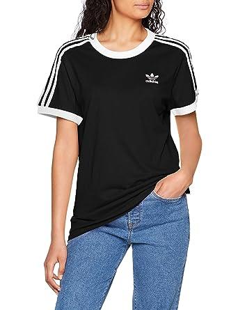 Adidas Tee T 3 Stripes Shirt Femme eD29IEWHY
