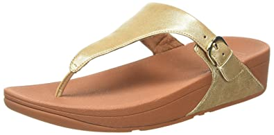 c8fa83806d3ca7 Fitflop Women Skinny Toe Thong Leather Heels Sandals  Amazon.co.uk ...