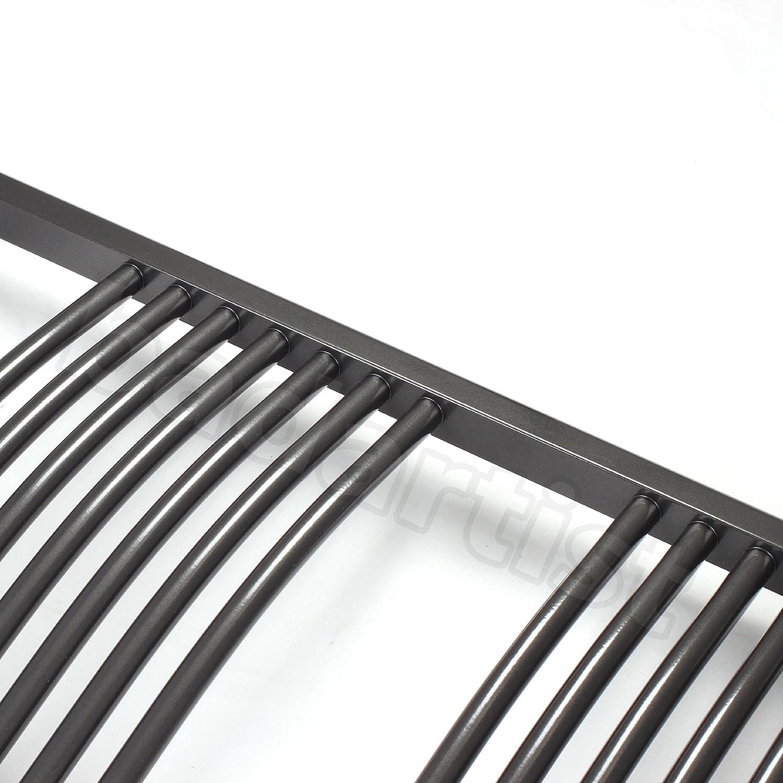 Heizk/örper Badheizk/örper Handtuchw/ärmer gebogen anthrazit mit Mittelanschluss 50 mm alle Gr/ö/ßen