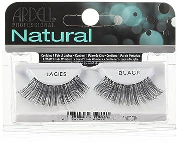 beea849f08b Amazon.com : Ardell Invisiband Lashes, Lacies Black, 1 Pair : Fake Eyelashes  And Adhesives : Beauty