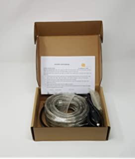Amazon Com Brilliant 120 Volt Led Neon Rope Light 148 Feet Home