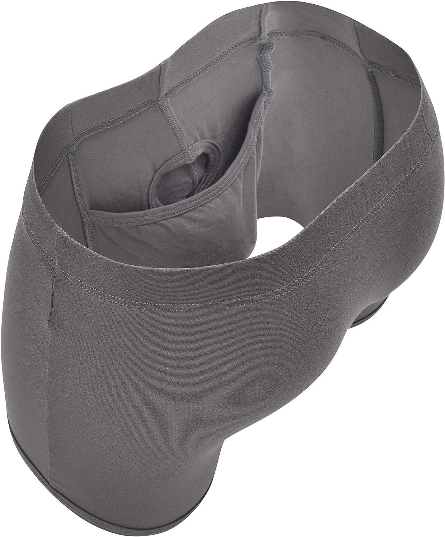 SHEATH Men's Underwear with Dual Pouch 3.21 Fly Boxer Briefs