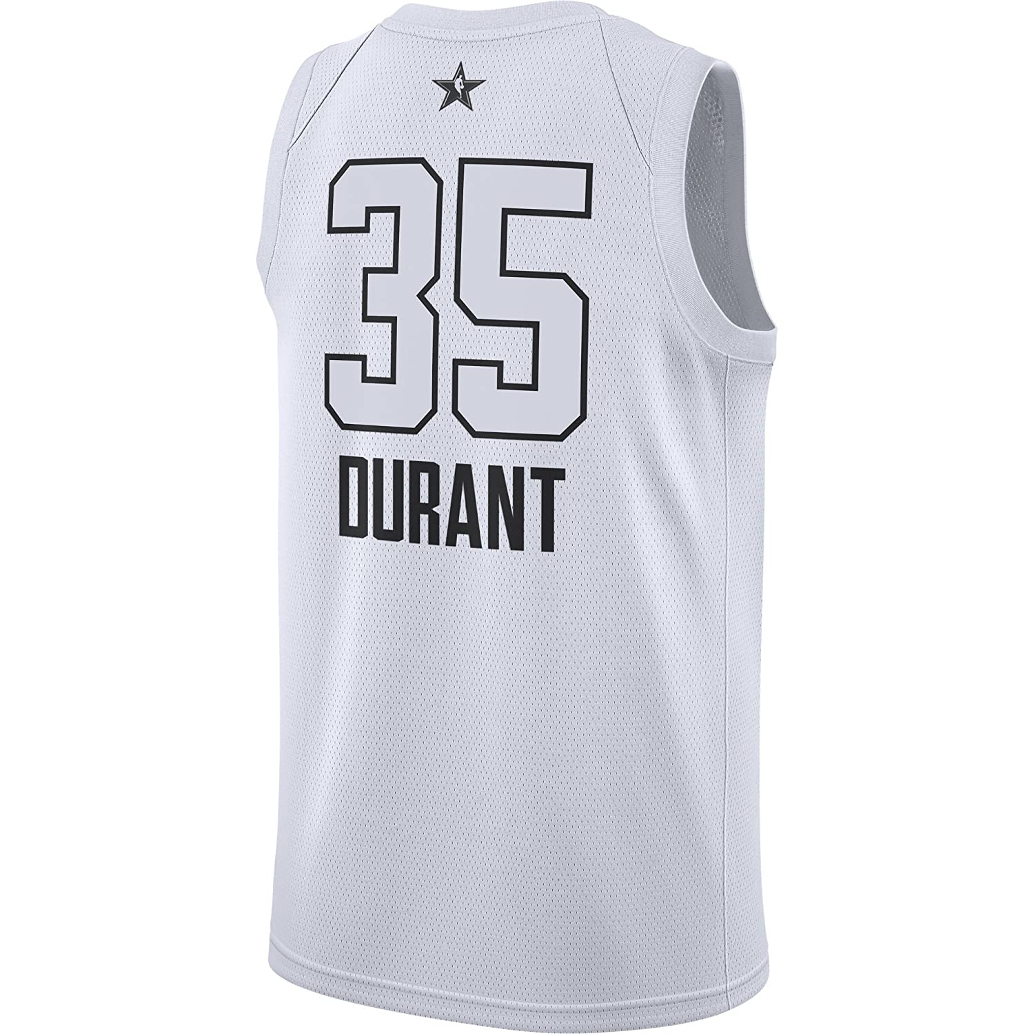 75c55ffb439 Amazon.com: Jordan Brand Kevin Durant Golden State Warriors White 2018 All-Star  Game Swingman Jersey - Men's Medium: Clothing