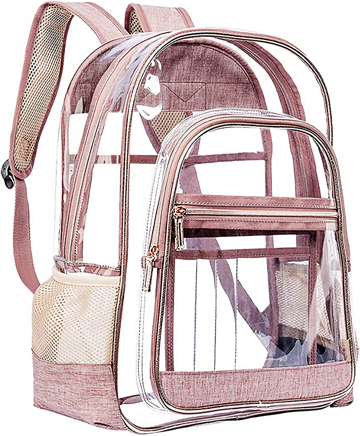Okngr Heavy Duty Clear Backpack,See Through Clear Transparent Backpack