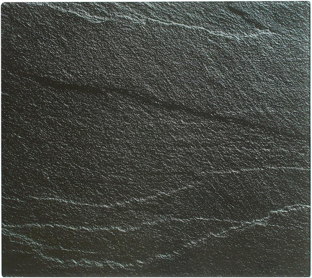 XL Glas Herdabdeckplatte Herd Abdeckung Platte Ceranfeld Induktionsfeld Granit