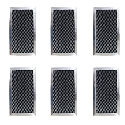 WB02X10733 2-Pack JX81B Replacement Carbon Filters compatible with GE
