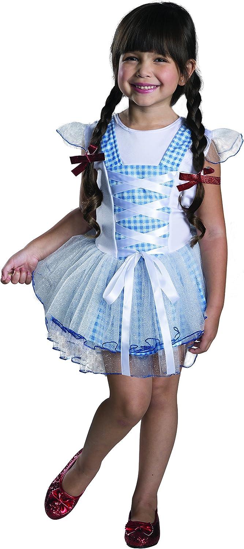 Disfraz de Dorothy El Mago de Oz tutú para niña - 5-6 años: Amazon ...