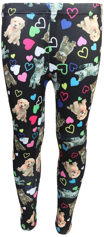2 Full Sets Sweet /& Sassy Girls/' 4-Piece Pajama Legging Set