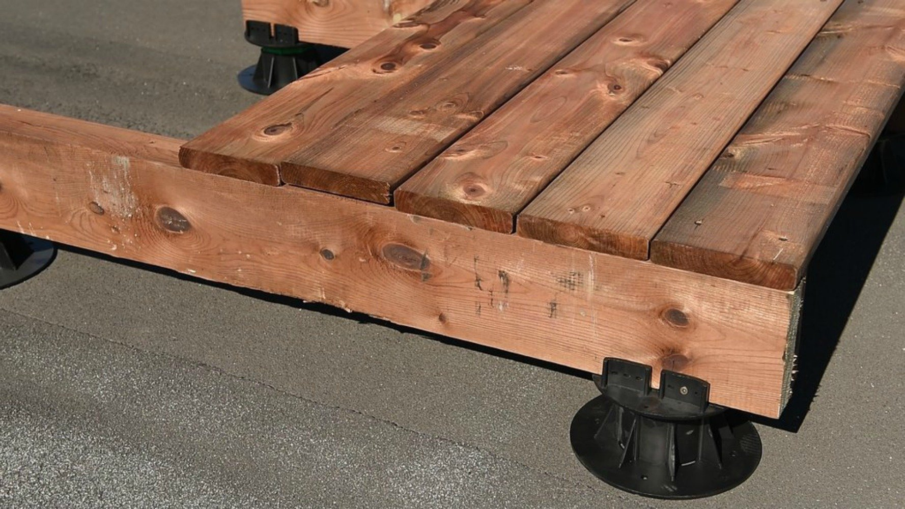 DTG-S4 PAVERS and/or LUMBER JOIST Adjustable Pedestal Support (Pack of 8) by Deck TO GO (Image #6)