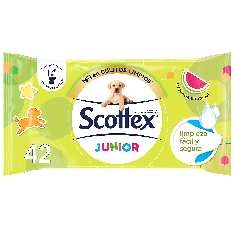 42 servicios Scottex Junior Papel Higi/énico H/úmedo