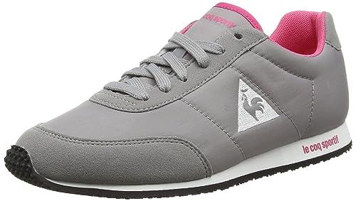 Le COQ SportifRacerone W Classic - Zapatillas Mujer, Color Gris, Talla 39: Amazon.es: Zapatos y complementos