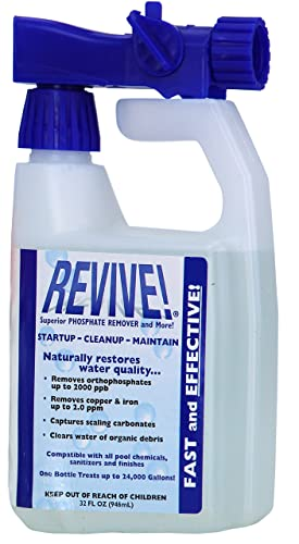 REVIVE! Swimming Pool Phosphate and Algae Remover