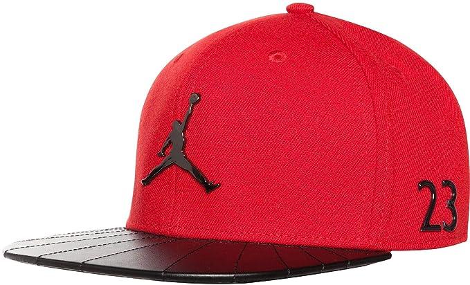 best service 5719e cd67e Jordan Boys' Retro 12 Snapback Hat (Black/Gym Red) at Amazon ...