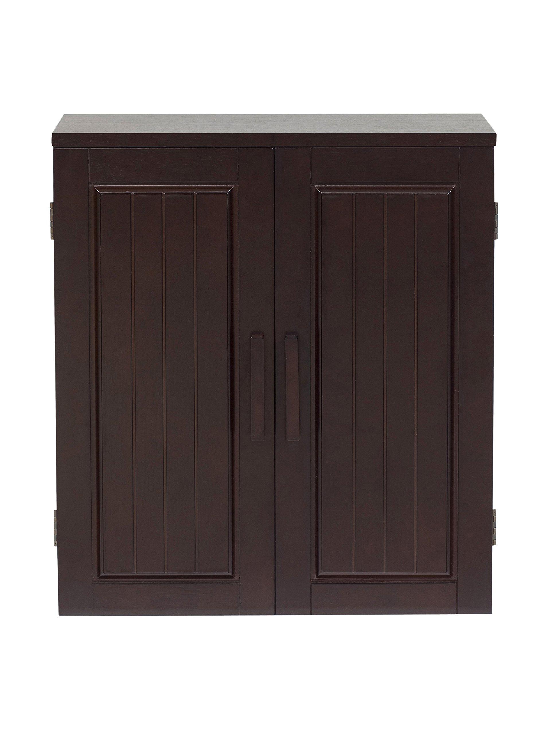 Elegant Home Fashions Catalina 22.5x20'' Wall Cabinet - Dark Espresso