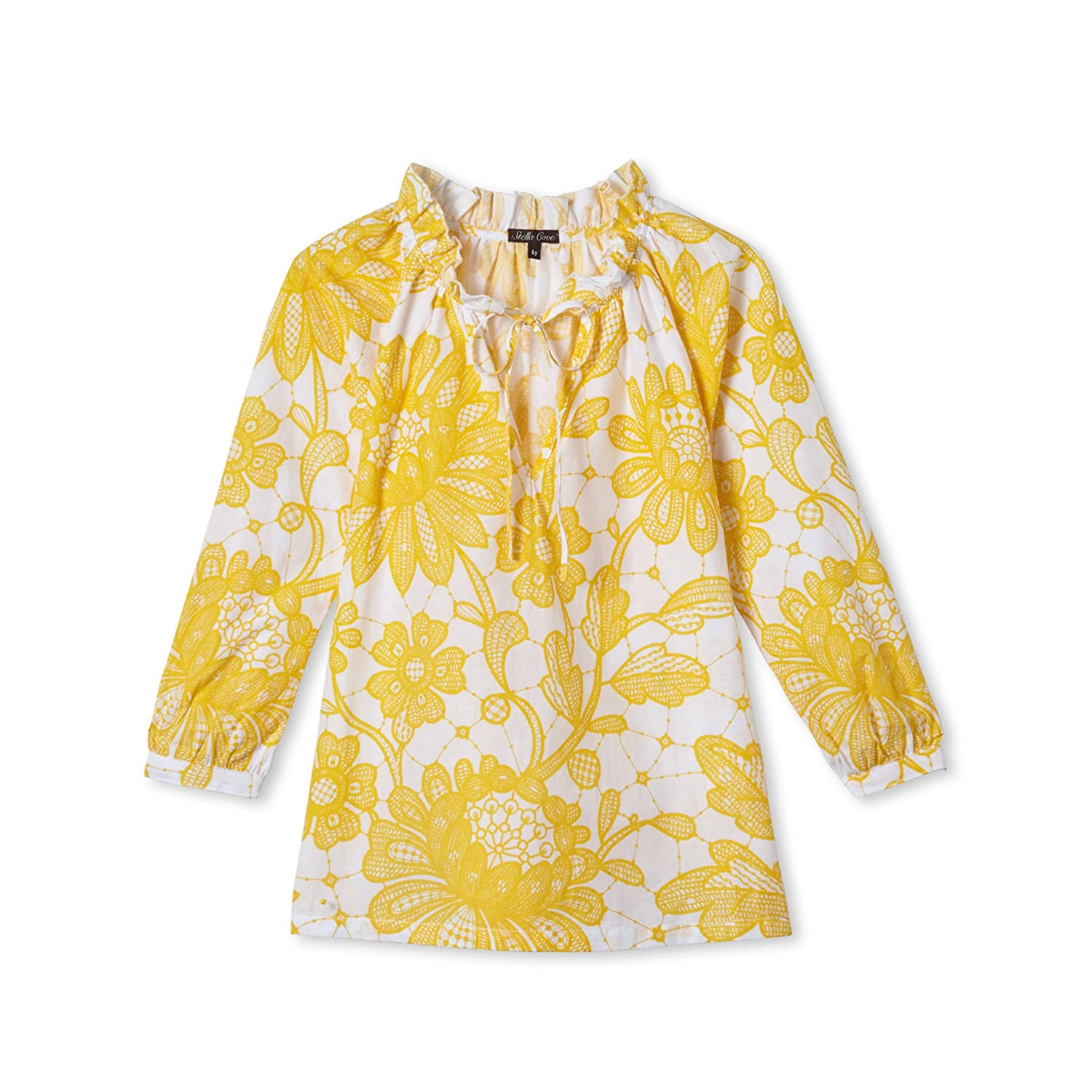 Girls Yellow Cover Up