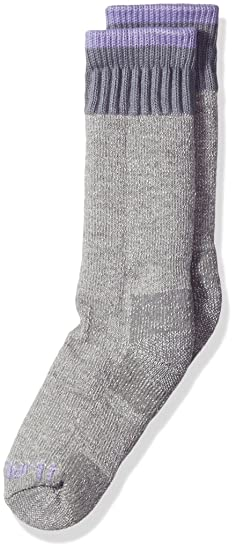 803ac4df53c86 Carhartt Girls' Toddler Cold Weather Boot Socks, Heather Gray, Shoe Size: 3