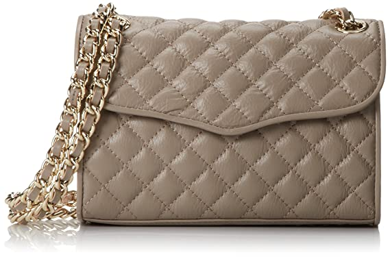 Amazon Rebecca Minkoff Mini Quilted Affair Cross Body Bagtaupe