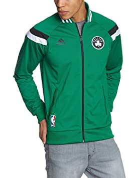 adidas NBA Boston Celtics con Capucha Chaqueta de Entrenamiento; Talla XS; g96414; Verde: Amazon.es: Deportes y aire libre
