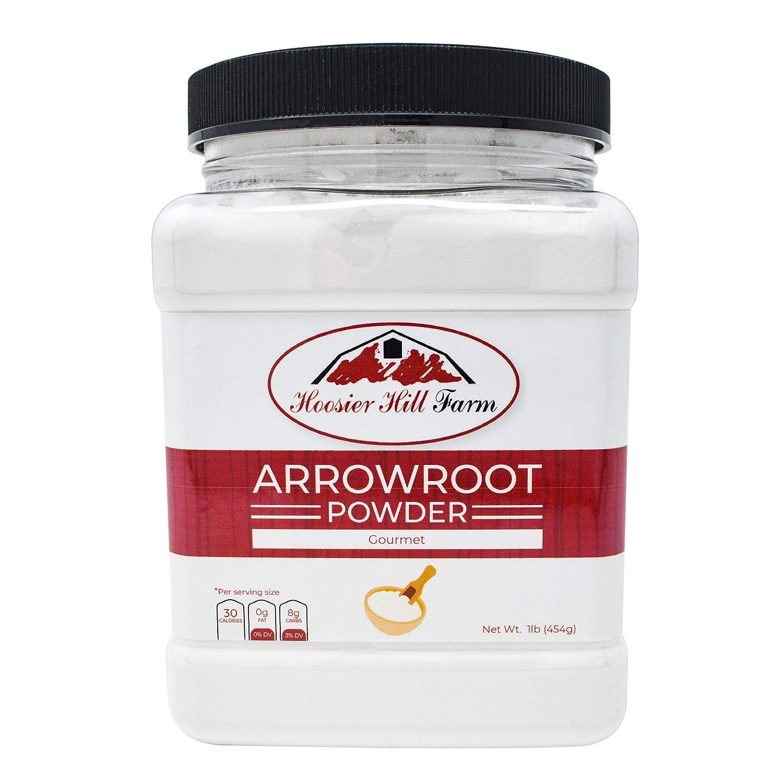Hoosier Hill Farm Premium Arrowroot Powder, 1 Pound
