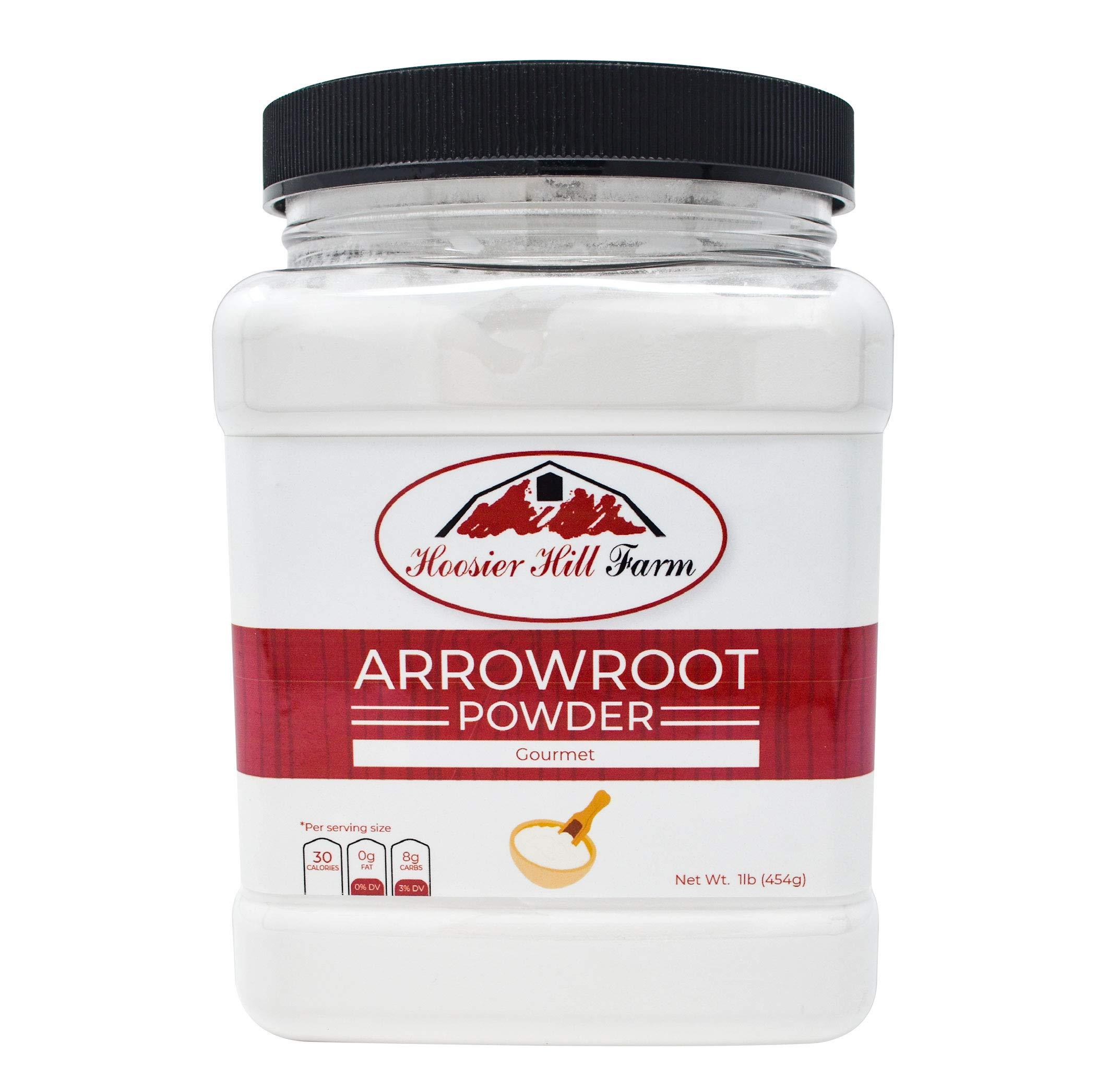 Hoosier hill farm premium arrowroot powder 1 lb