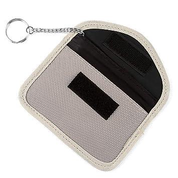 acbungji Faraday Bolsa Bloqueador de Llavero de Coche NFC ...