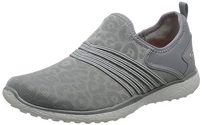 Women's sports shoes, colour Grey , brand SKECHERS, model Women&