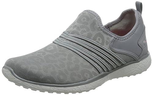 Sport scarpe per le donne, colore Grigio , marca SKECHERS