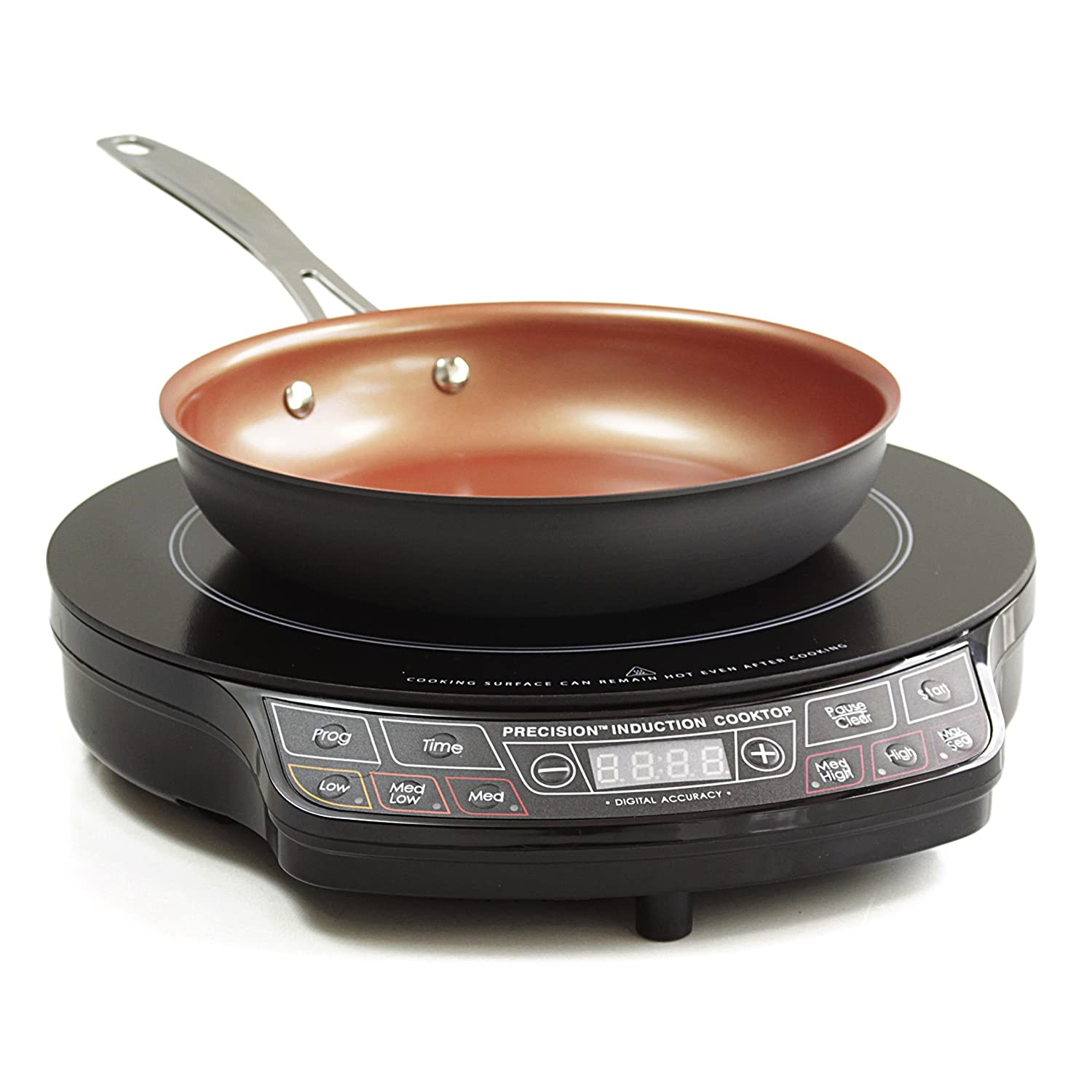 "Enjoy this Special Deal with NuWave PIC GOLD 1500 Watts- Induction Cooktop With Healthy Ceramic 9"" Fry Pan"