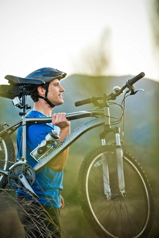 Orange 2 Unids Botella de Bicicleta de Agua Jaula Pernos de la Botella M5 12mm para TB Bicicleta de Monta/ña Bicicleta Titular de la Botella Soporte Estante Ciclismo Accesorios