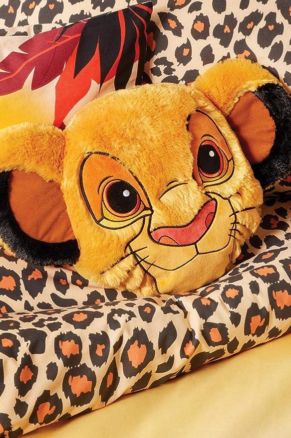 Disney Primark Lion King Simba Cara Almohada King Lion ...