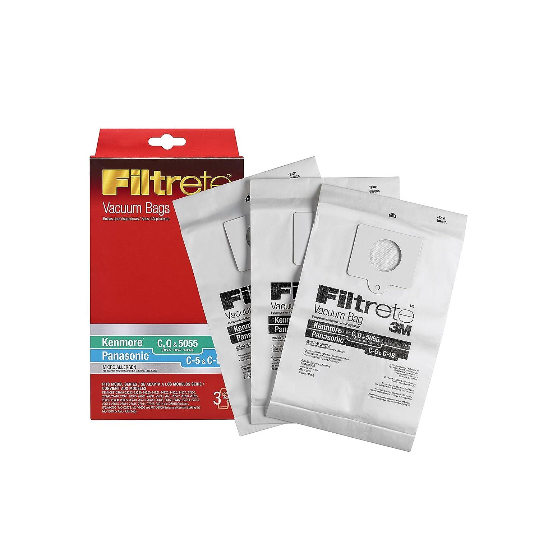 3M Kenmore/Panasonic C, Q & 5055 / C-5, C-18 Micro Allergen Vacuum Bag 3