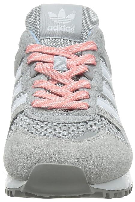adidas Damen ZX 700 W Turnschuhe, Gris/Blanco/Rosa (Grasua/Ftwbla/Rosmel),  44 EU: Amazon.de: Schuhe & Handtaschen