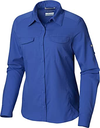 Columbia Women's Silver Ridge Lite Long Sleeve Shirt, UV Sun Protection, Moisture Wicking Fabric