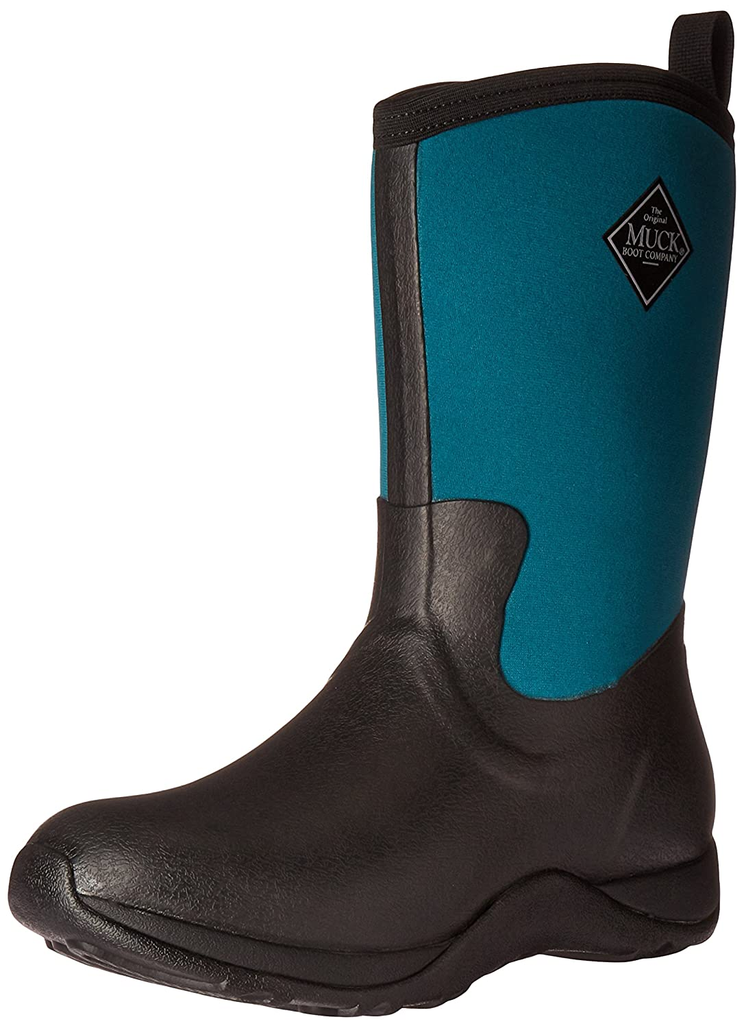 Muck Boot Women's Arctic Weekend Mid Snow B01M0JELMP 10 M US|Black/Shaded Spruce