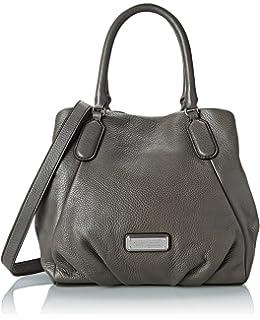 784721b3643d Marc by Marc Jacobs New Q Fran Shoulder Bag (Faded Aluminum)