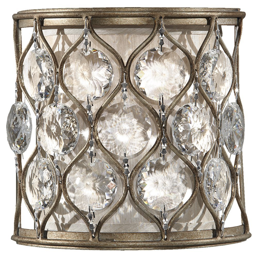 com silver terzani with leaf at sconce finish sconces wall large by tresor